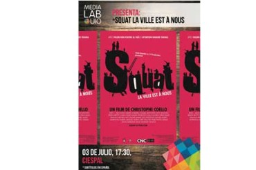 CIESPAL  presenta el documental Squat del director Christophe COELLO
